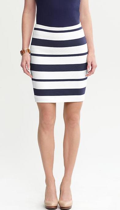 2013Feb07 - Big Stripes Skirt