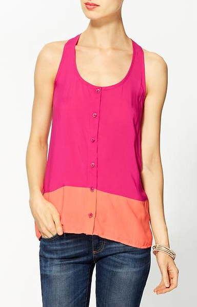 2013Feb13 - Bold Colorblock Tank