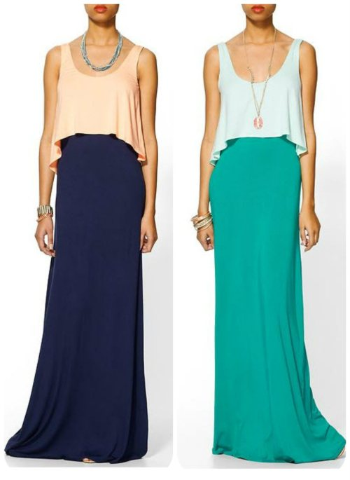 Europe 2013 - Tiered Maxi Dress