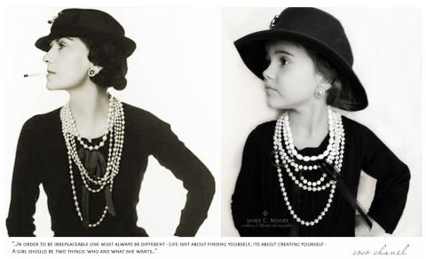 Coco Chanel Costume
