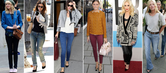 Fall Denim Transitional Styles