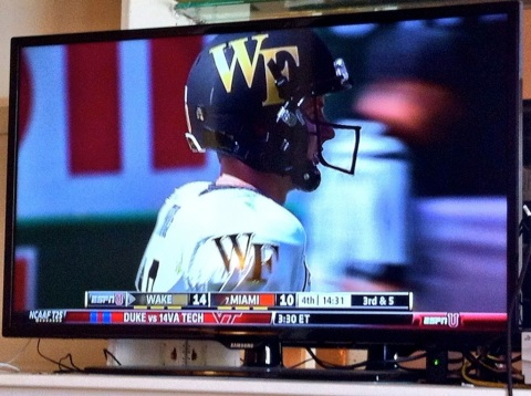 2013Oct30 - Wake Forest Football