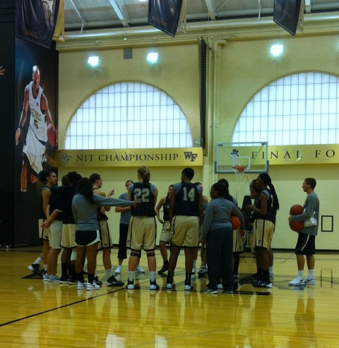 2013Oct30 - WFU Basketball
