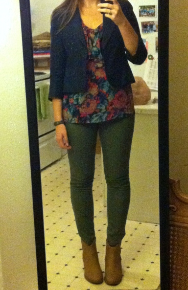 Fall Style Olive Floral 1
